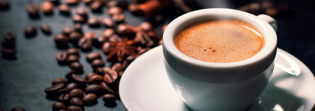 Happy coffee making