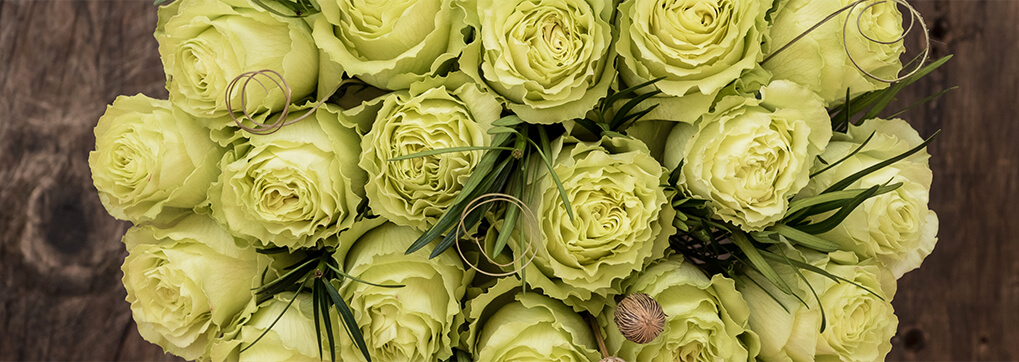 The real meaning behind green roses
