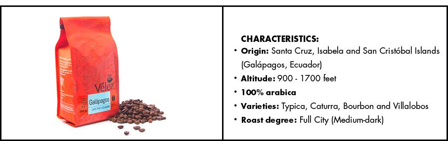 Galapagos Gourmet Coffee Beans