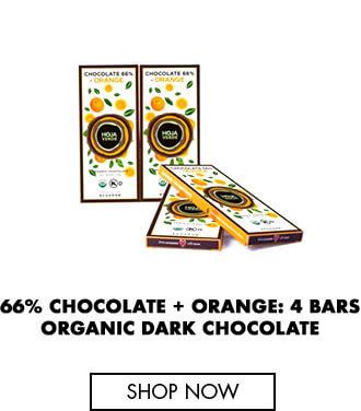 66% Chocolate + Orange