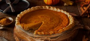Healthy thanksgiving pumpkin pie