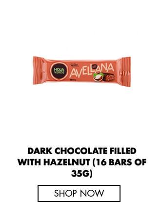 Dark Chocolate filled with Hazelnut