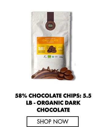 Chocolate Chips - Organic Dark Chocolate