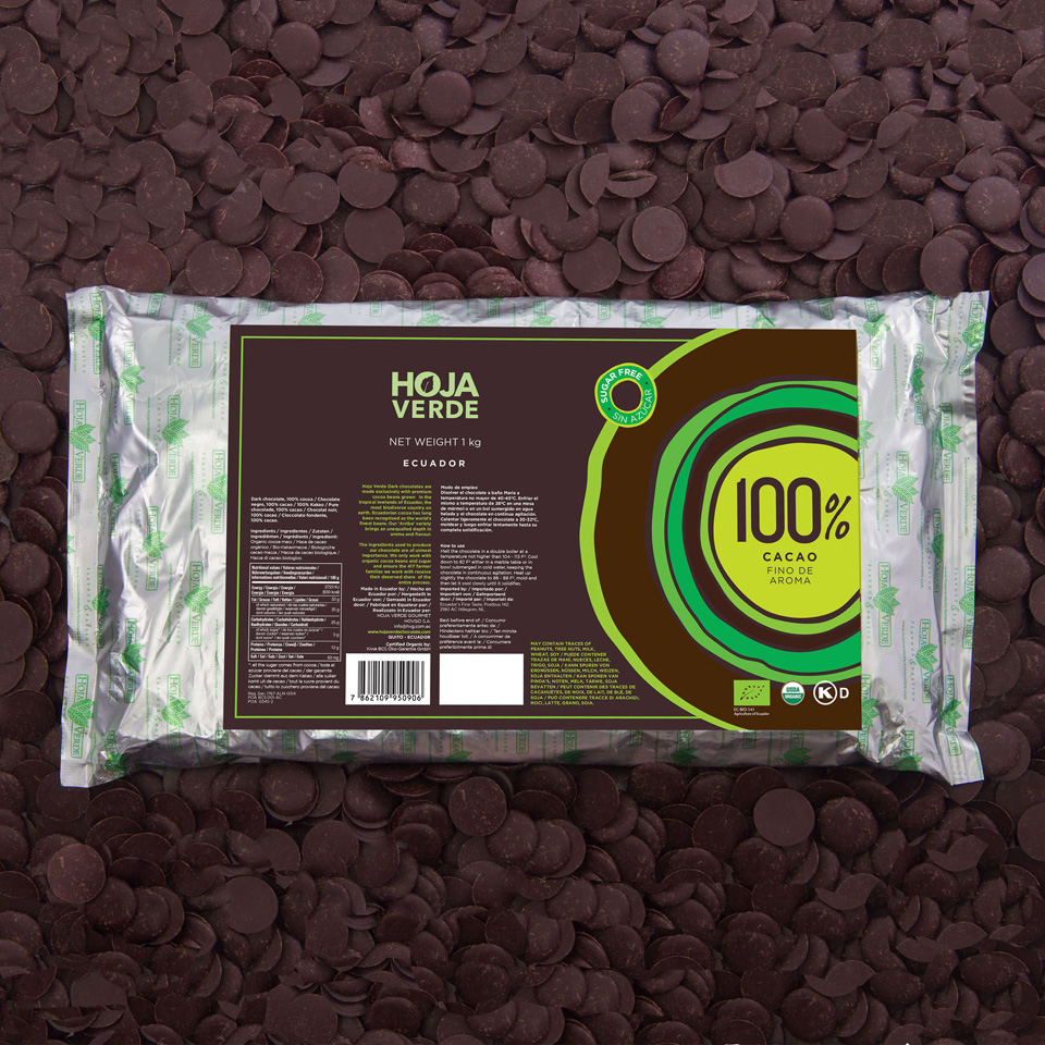 100% Chocolate Chips: 2.2 lb - Organic Dark Chocolate