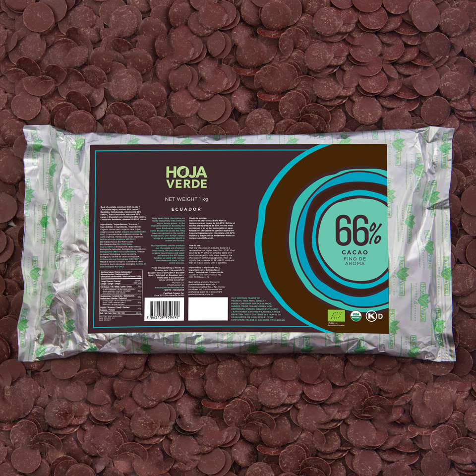 66% Chocolate Chips: 2.2 lb - Organic Dark Chocolate