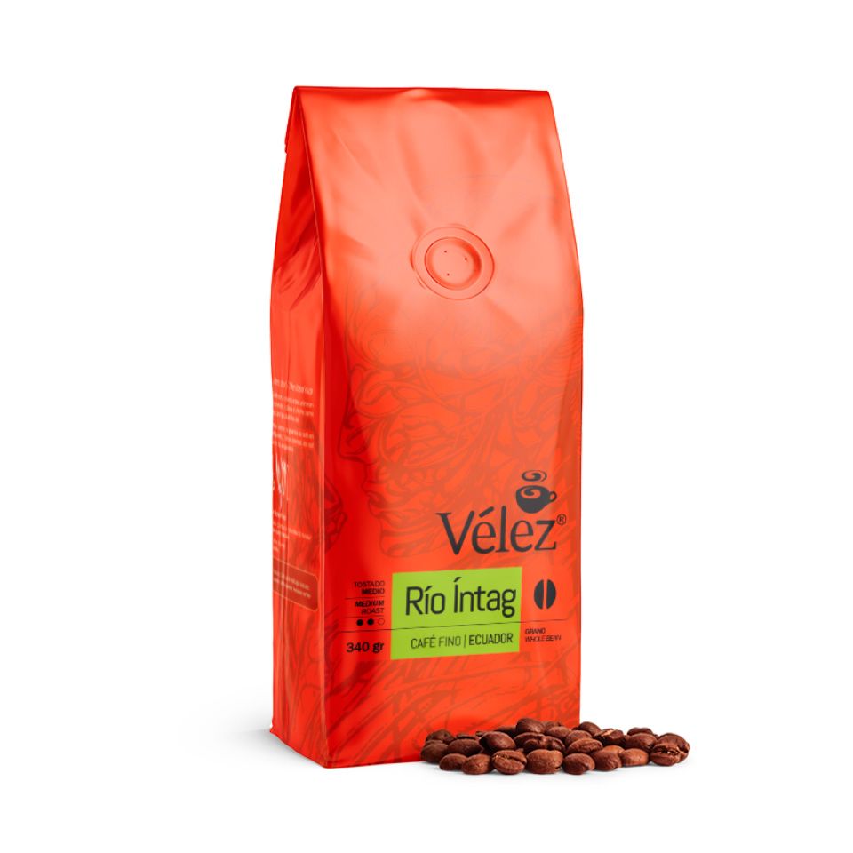 Intag Coffee Beans: 4 Bags of 12 Oz each