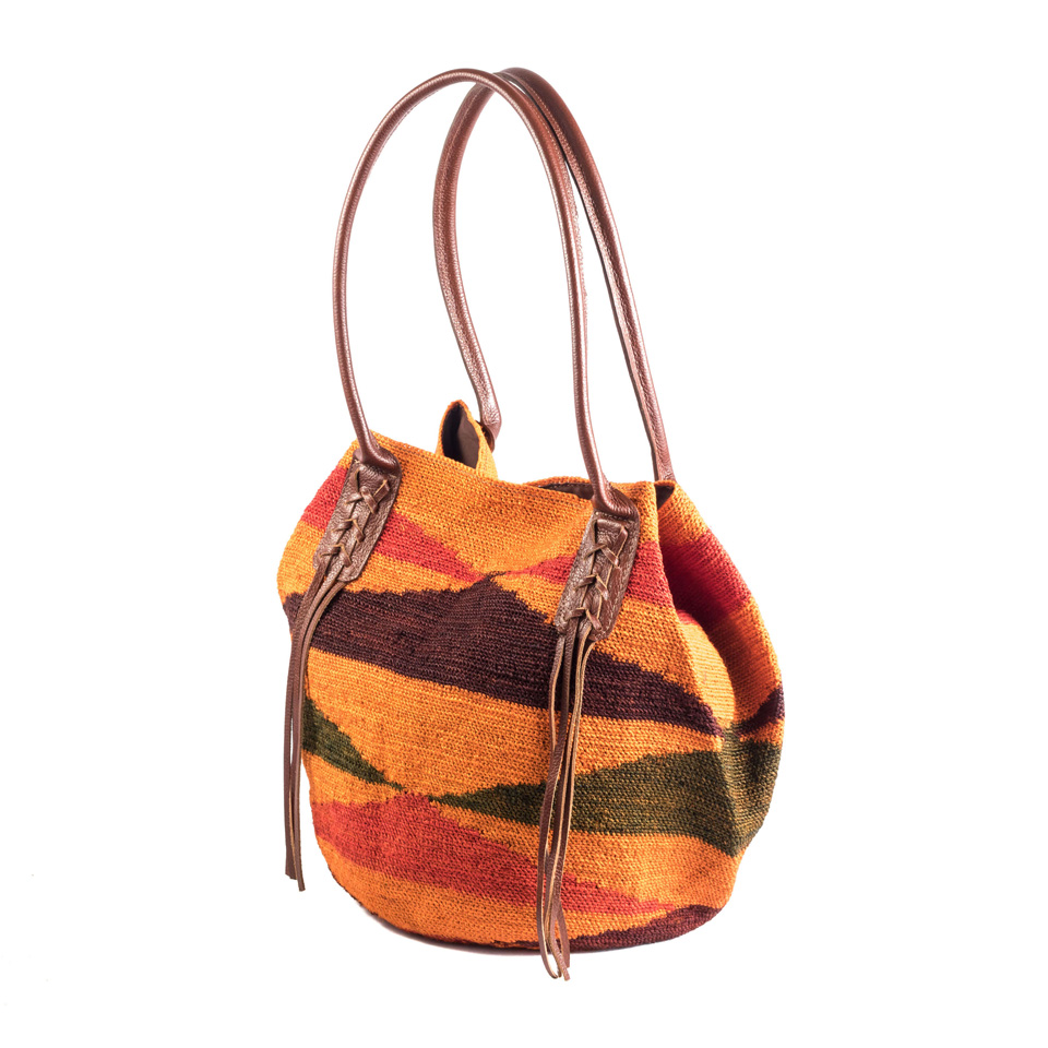 Braided Bag - Terracota