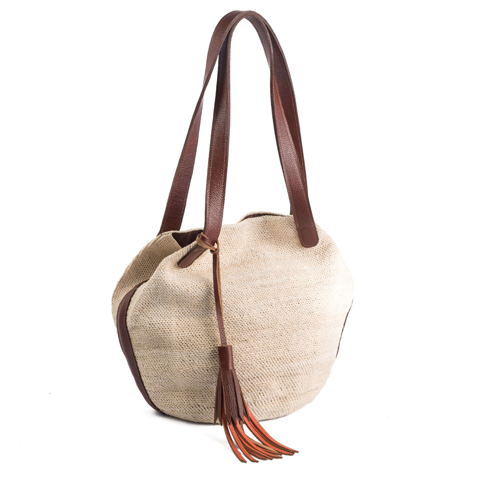 Carolina - Natural Light Brown Leather