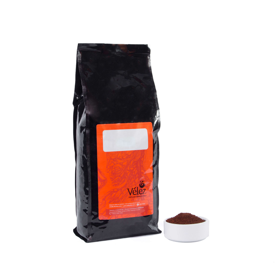Yumbo Ground Coffee: 1 Bag of 2.2 lb - Gourmet Coffee from Ecuador