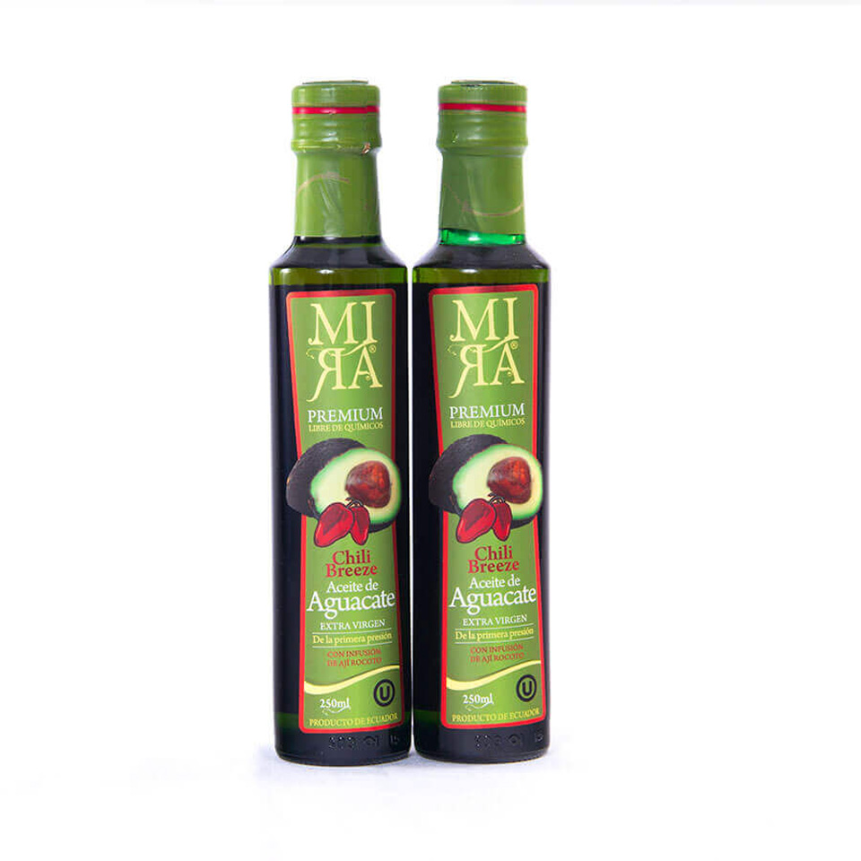 Chili Breeze Extra Virgin Avocado Oil: Pack of 4