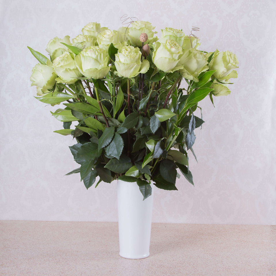 Fresh Start Green Roses Exotic Flowers From Ecuador