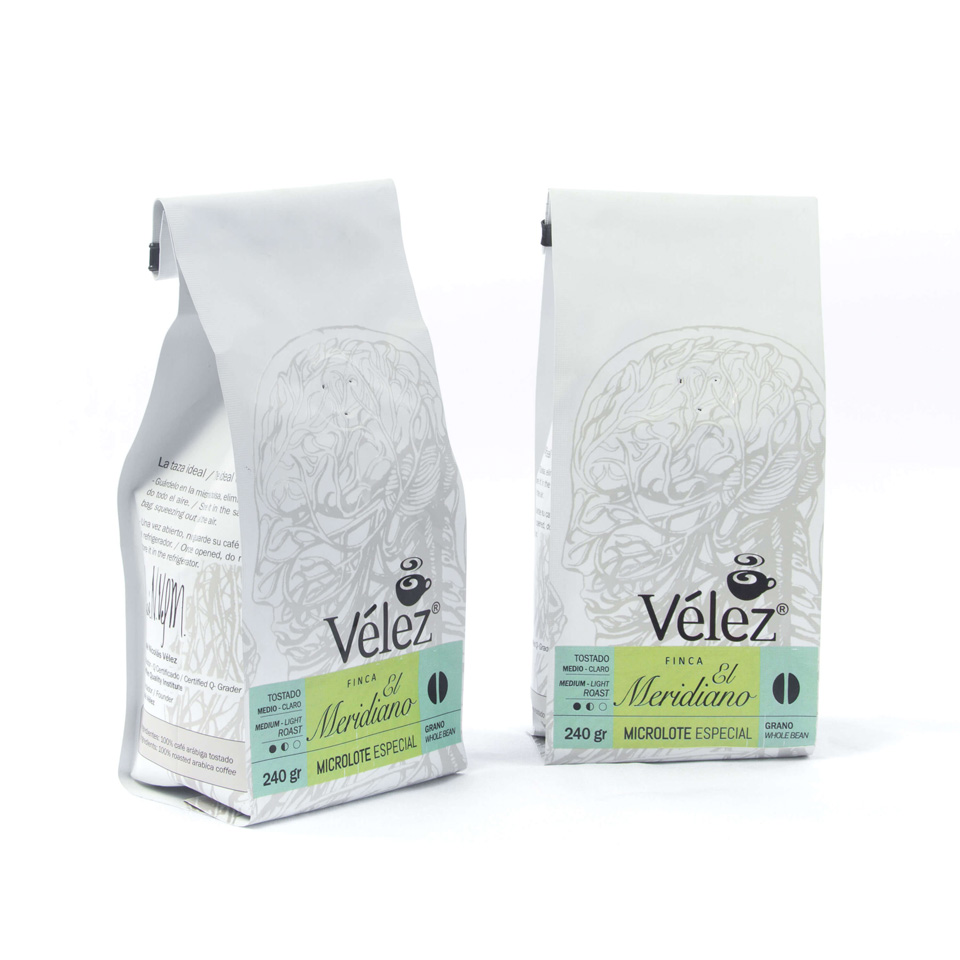 Meridiano Coffee Beans: 2 Bags Of 8.46 Oz each - Gourmet Coffee from Ecuador