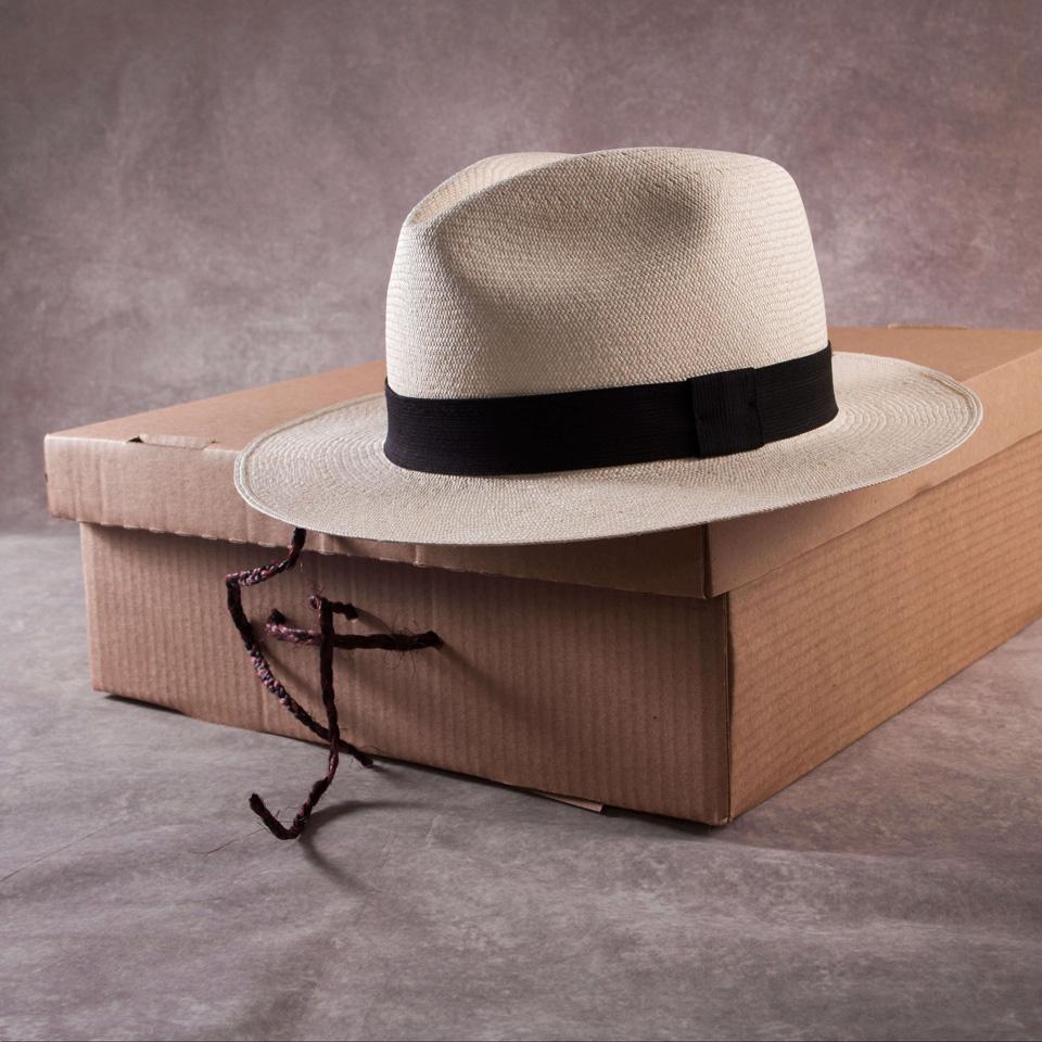 Fine Montecristi Fedora - Panama Hat