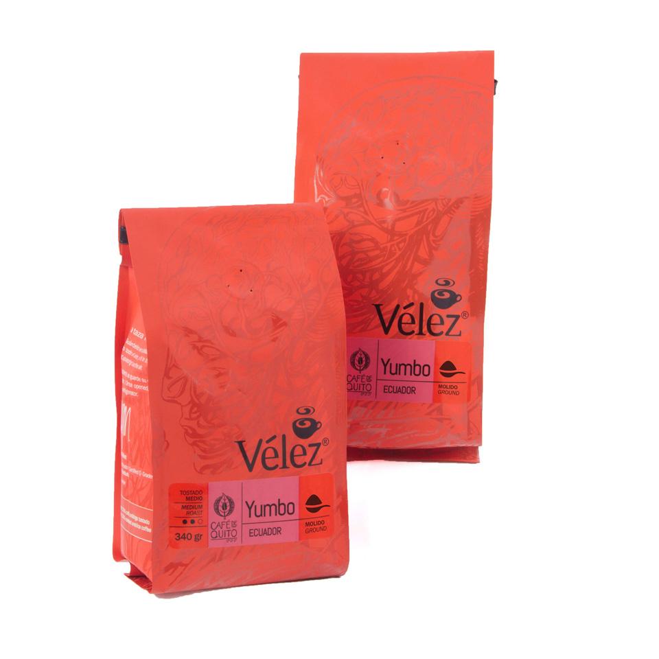 Yumbo Ground Coffee: 2 Bags Of 12 Oz each - Gourmet Coffee from Ecuador