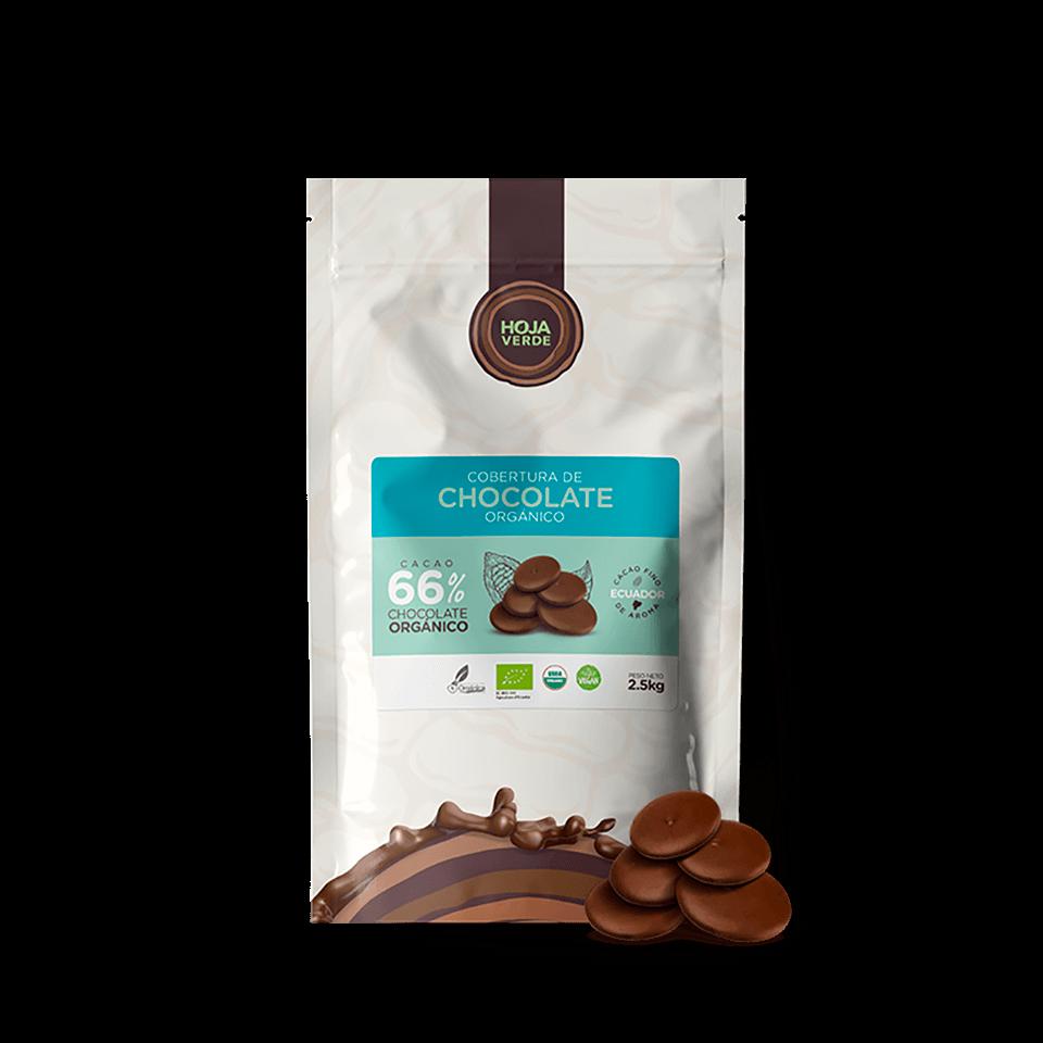 66% Chocolate Chips: 5.5 lb - Organic Dark Chocolate