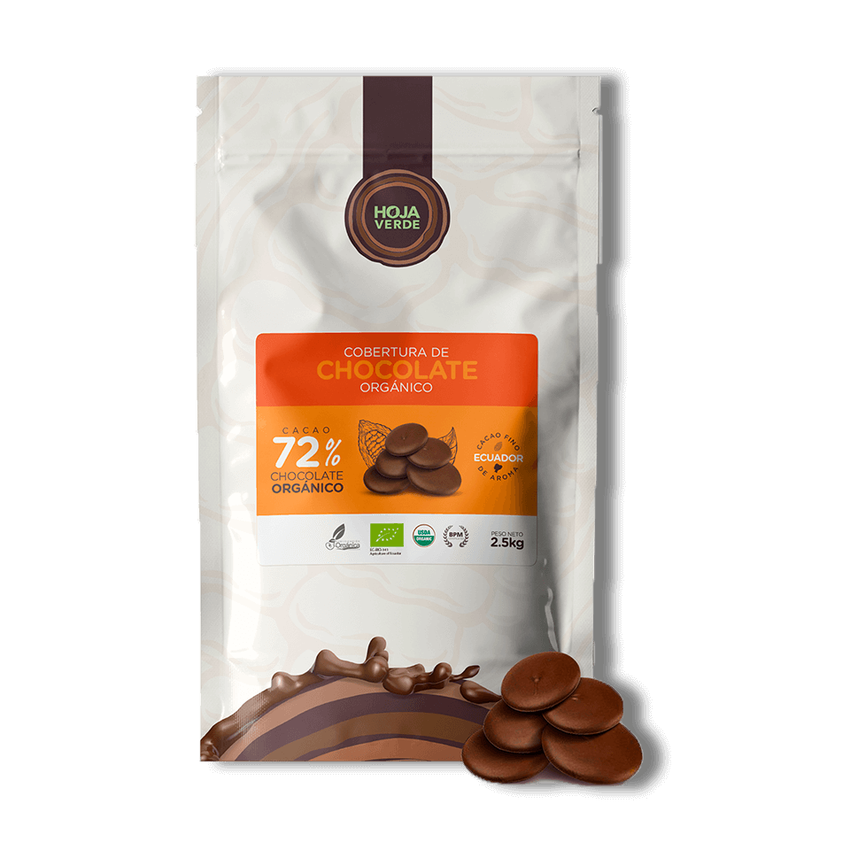 72% Chocolate Chips: 5.5 lb - Organic Dark Chocolate