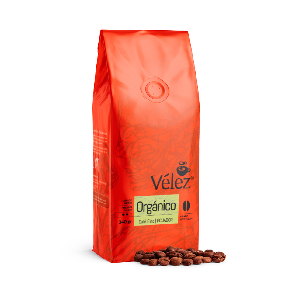 Organic Coffee Beans: 4 Bags Of 12 Oz each - Gourmet Coffee from Ecuador