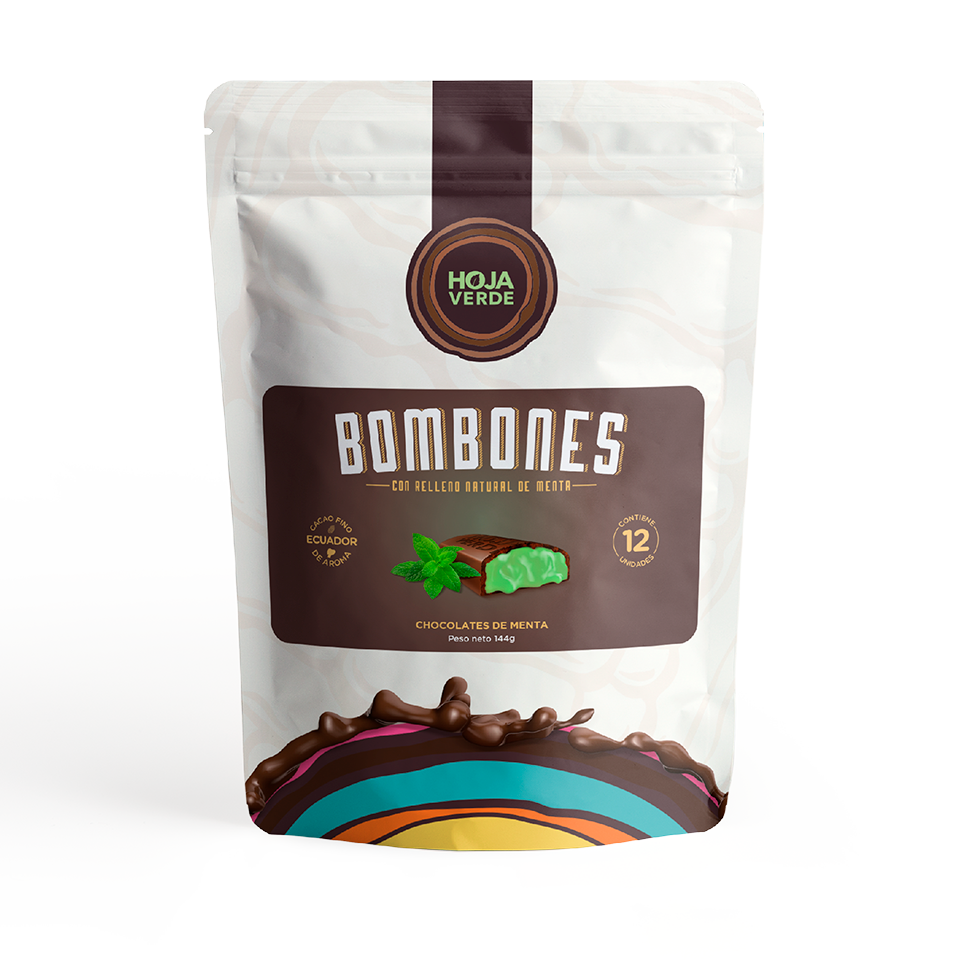 MINT BOMBONS PACK OF 4 (144g/each)