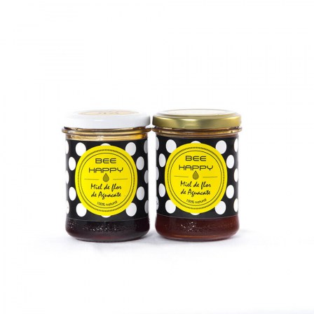 Bee Happy Avocado Honey: Pack Of 2
