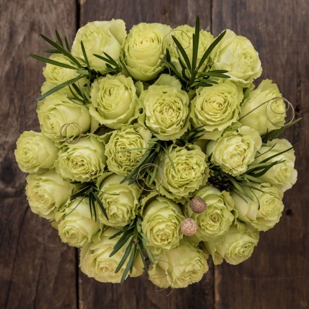 Fresh Start: Green Roses - Exotic flowers from Ecuador