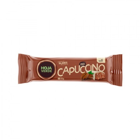 White chocolate filled with cappuccino (16 bars of 35g)